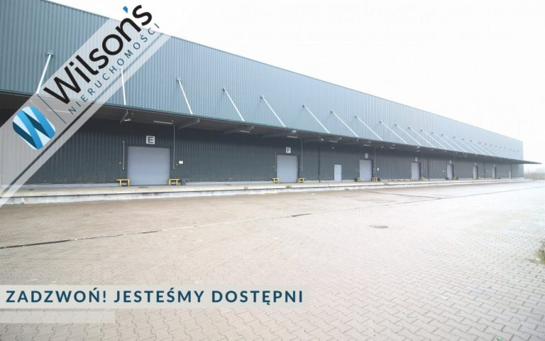warehouse with offices on 3.8 ha plot