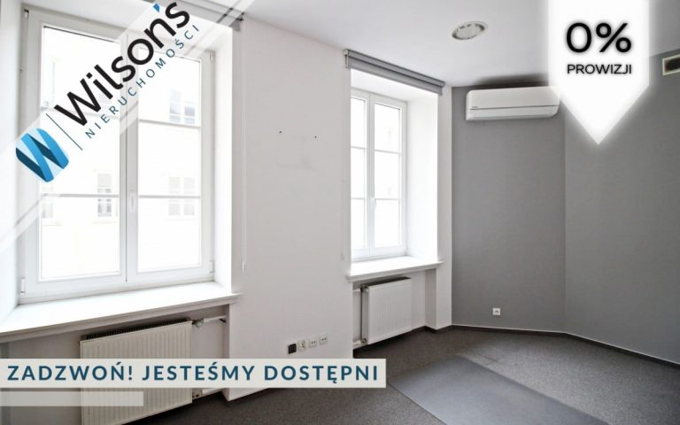 Office in a tenement house. 185m2. Crane