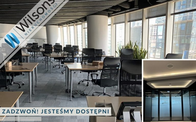 A prestigious office building, class A +, approximately 300m2 - sublease