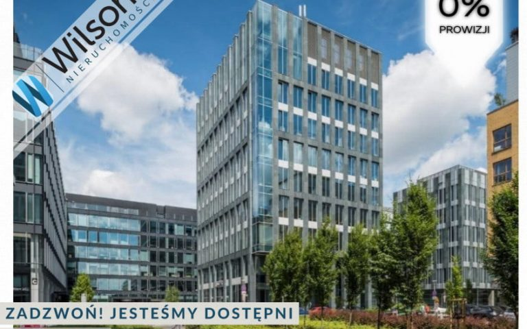 Modern office, 271 m2, Mokotów close to the subway