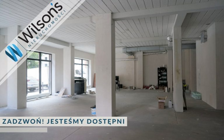New spacious premises of about 176m2, Ursynów