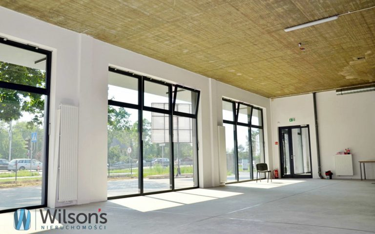 NEW GROUND FLOOR OF 200M2 FOR SERVICE / TRADE / OFFICE ŁOMIANKI