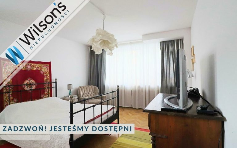 A lovely studio apartment in the lower Mokotów district