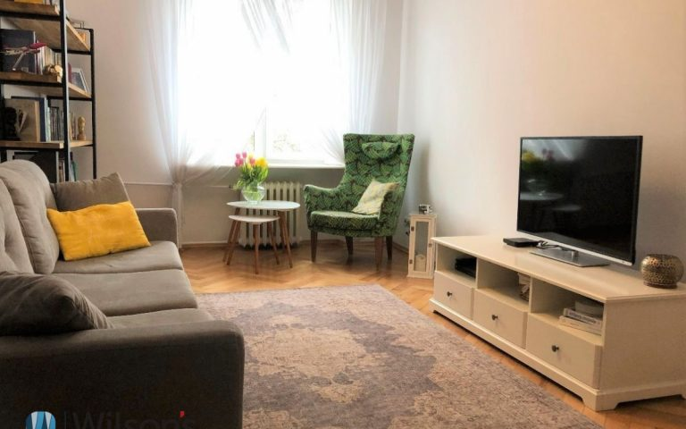 2 rooms in Muranów, 45m2 separate kitchen