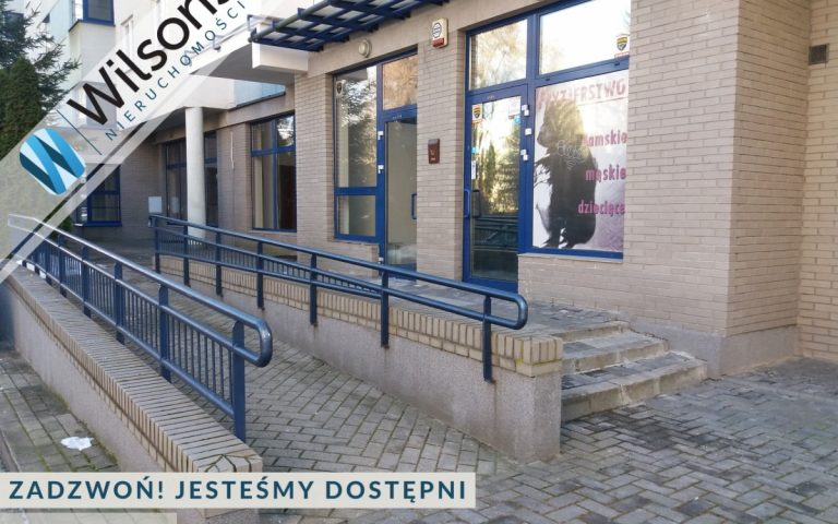 A two-level restaurant in Natolin. Low price