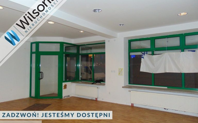 Commercial premises with shop windows in Grójec
