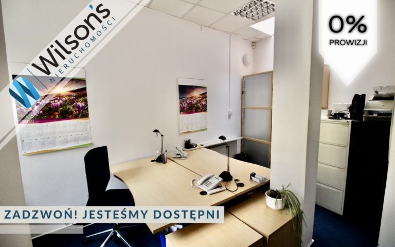 Furnished office 156m2, with independent entrance.