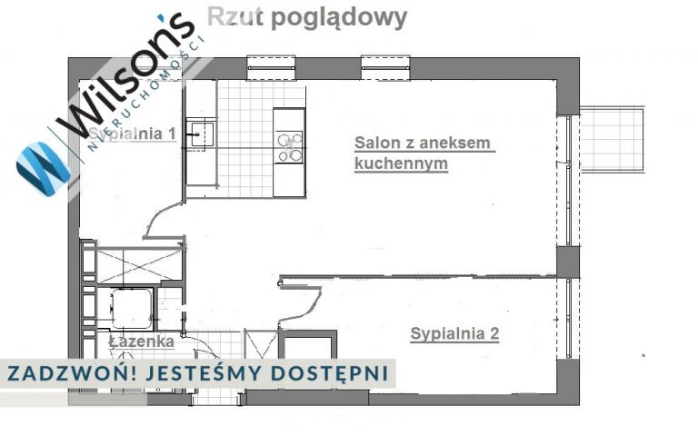 3-room apartment to move in, Mokotów