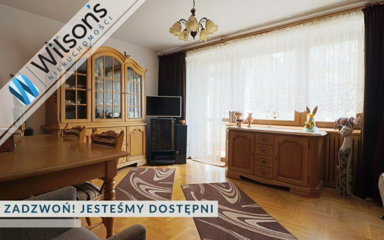 3-room apartment at the Służew metro station