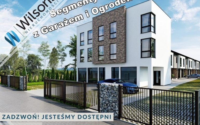 Segment (4 rooms) with garage and garden - 108 m2