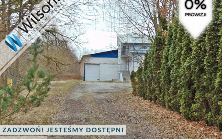 Warehouse and office for sale. Nadarzyn.