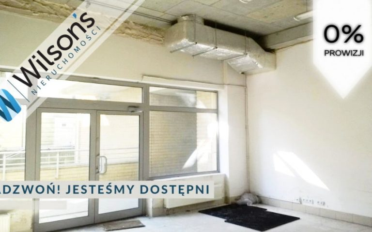Premises with an area of 96,68 m² for rent.