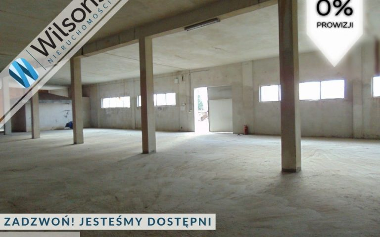 Production facility for rent 13 PLN / m²