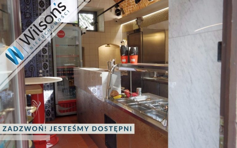 The gastronomic facility (near the Market Square) is ready