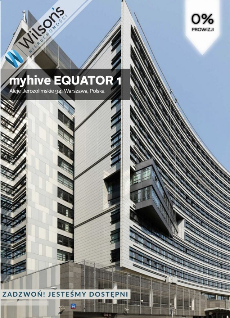 Office building 468m2, Zawiszy Square