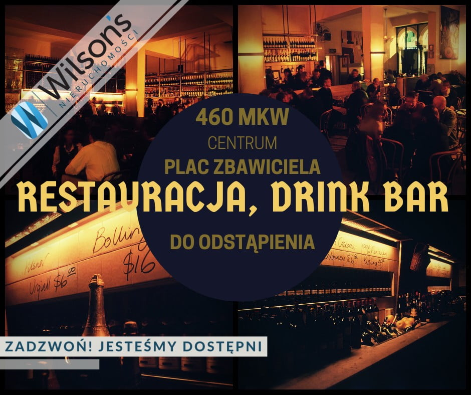 Restaurant, bar. To withdraw