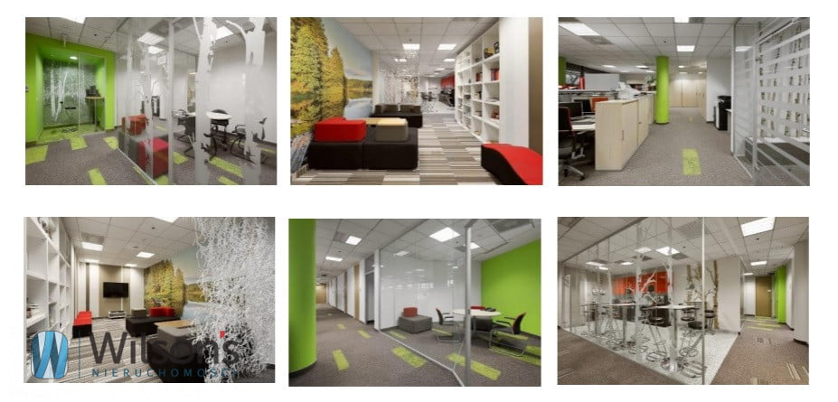Attractive sublet of approx. 492 m2, class A office building