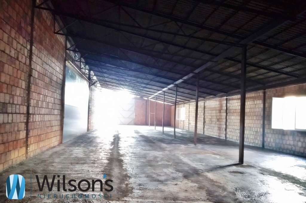 Warehouse 860m2, Zielonka next to the exit from S8