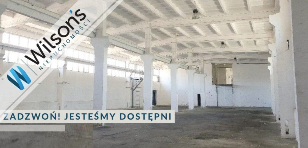 800m2 warehouse, Warsaw Wawer access from A2